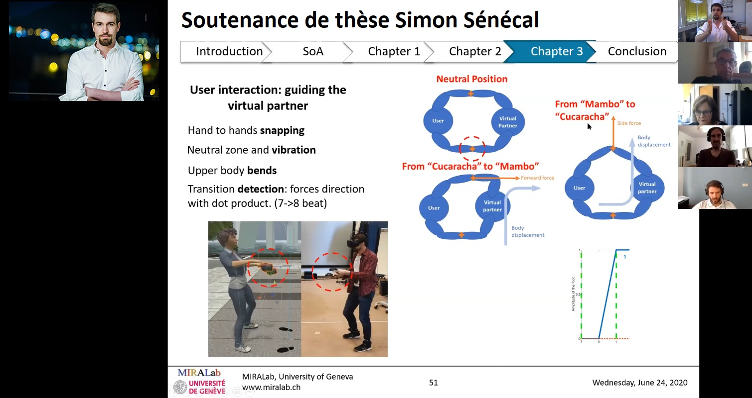 PhD defence of Mr Simon Sénécal